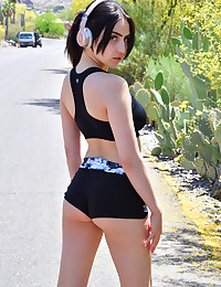 Hot Jogging Day