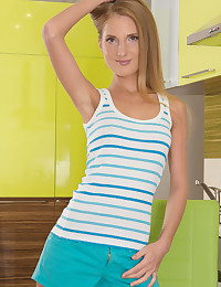 Cute teen strips every inch of her clothing as she shows you a time you will remember.